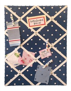 MYstyle Notice Board Dotty Denim Boards, Denim, My Style, Crafts, Planks, Manualidades, Handmade Crafts, Craft, Arts And Crafts