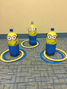 Show off your super villain skills with a game of Minions ring toss. 13 Minions Party Ideas For The Ultimate Despicable Me 3 Birthday Party Minion Theme, Minion Birthday, Boy Birthday, Birthday Games, Park Birthday, Birthday Ideas, Activities For Kids, Crafts For Kids, Preschool Ideas