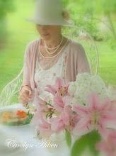 Tea time in the garden.