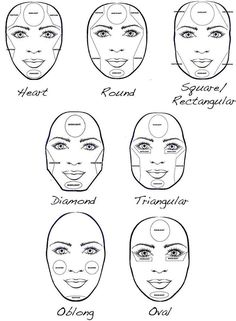 How to make your face look slimmer, makeup contouring tips and tricks. | http://makeuptutorials.com/5-tutorials-teach-make-face-look-thinner/