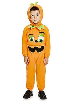F&F Halloween Pumpkin Dress-Up Costume - Orange