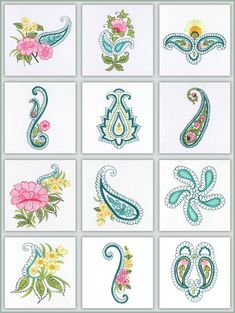 small paisley tattoos - Google Search