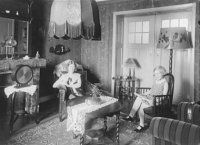 woonkamer den haag 1925