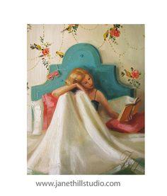 StieglitzKunstdruck von Original Ölgemälde von janethillstudio, $38.00