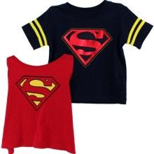 Dc Comics Pink Supergirl Footie Toddler