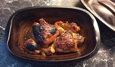 Kyckling som tillagas i lergryta blir väldigt saftig och god.