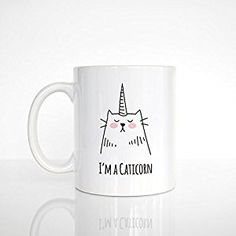 Cat Toys Best - Caticorn Mug, Best Selling Item, Cat Lover Gift for Her, Cat Mug, Cat Unicorn Mug, Funny Mug, Cute Mug, Unique Coffee Mug, Cat Coffee Cup ** Be sure to check out this awesome product. (This is an affiliate link) #CatToysBest