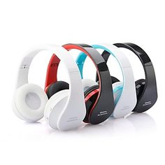 NX-8252 headphones Bluetooth Headphones (Headband) With Microphone for Media Player/Tablet/Mobile Phone/Computer – USD $ 14.99