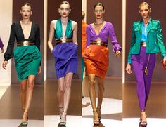 Most Expensive Fashion Brands In The World Couture Fashion, Runway Fashion, Women's Fashion, Summer Trends, Color Trends, Color Combos, Color Blocking, Fashion Forward, Fashion Brands