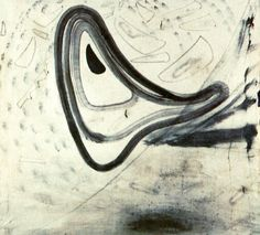 Salvador Dali Rhinocerotic Figures 1955 (abstract expressionism)
