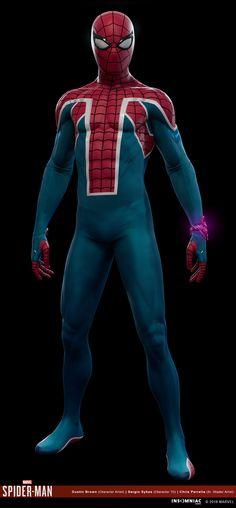 Spiderman Suits, Spiderman Movie, Batman, Marvel Avengers, Marvel Comics, Superhero Design, Marvel Wallpaper, Spider Verse, Marvel Cinematic Universe