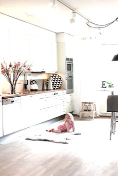 my new open plan kitchen / dining are will look almost exactly like this