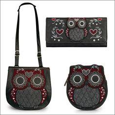 Owl purse, wallet
