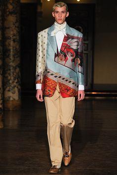 Paris Fashion Week (Menswear): Walter Van Beirendonck - Spring 2014