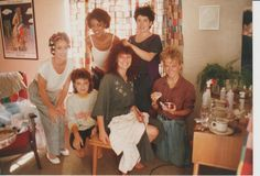 Getting ready for wedding day 5 april 1987 jane filmer, jenny scriven, rose francis, me, michelle and andrea Great Father, You Are Special, Love You Forever, Costa, Wedding Day, Film, Friends, Artist, Pi Day Wedding