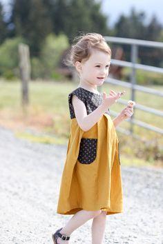 Geranium Dress // Delia Creates