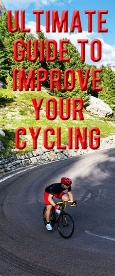 Ultimate Guide To Improve Your Cycling: We have put together some expert advice on the correct cycling techniques and tips, which will help you ride better and faster with reduced risk of injuries... #cycling #bike #bicycle #cyclingtips #cyclingadvice