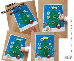 #DIY Christbaum zum selber Schmücken von Mostamoons im Adventkalender von Babyspeck & Brokkoli auf http://www.babyspeck.at/adventkalender