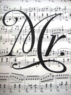 Vintage Sheet Music Print  Mr Print  Wedding  by SpecialThingsShop, $5.99