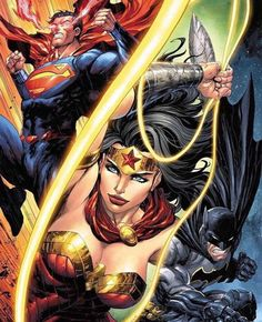 The Justice League core members / the founders