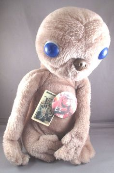 #UniversalStudios E T #ExtraTerrestrial #Movie Stuffed Doll #VINTAGE 1982  #ShowTime