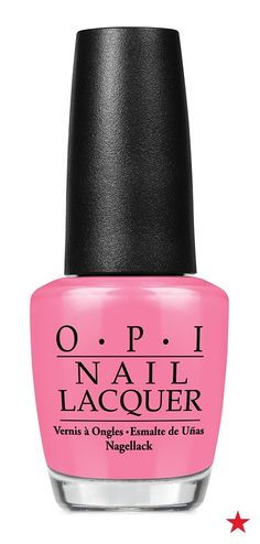 Don't forget bright tips and toes for your Spring Break trip. OPI's Suzi Nails New Orleans is a pink that truly pops.