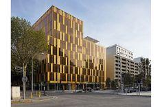 dominique perrault architecture: office building, boulogne-billancourt (2009)