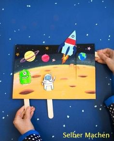 Captivating Outer Space Crafts for Kids that Are Truly Engaging