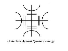 Protection against spiritual energy. Ancient Symbols Of Protection Protection Sigils, Symbole Protection, Protection Tattoo, Wiccan Protection Symbols, Pagan Symbols, Symbols And Meanings, Ancient Symbols, Viking Symbols, Egyptian Symbols