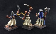 Sisters of Sigmar: Superior, Augur, Matriarch (back)