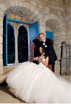 ناديت نجيم مشاهير تزوجوا من ملكات جمال