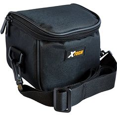 Xtech Well Padded Digital Camera Carrying Case with Inner Pocket  Neck Strap for Canon Powershot G1 X G10 G12 G15 G16 SX10IS SX20IS SX30IS SX40 HS SX50 HS SX500 IS  SX510 HS Digital Cameras * You can find out more details at the link of the image.