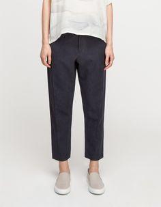 Loose Pants in Black