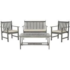 Found it at Wayfair - Polly 4 Piece Seating Group