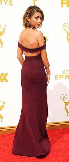 Emmys 2015 best dressed: Sarah Hyland in Zac Posen