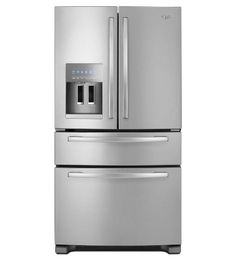 Whirlpool 25.0 Cu. Ft. Stainless Steel French Door Refrigerator - middle drawer