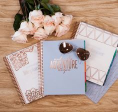 NEW Limited Edition Ready to Ship Rose Gold #EClifeplanner! #erincondren