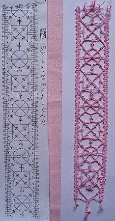 motif15-3 Irish Crochet, Crochet Lace, Bobbin Lace Patterns, Crochet Needles, Lacemaking, Lace Heart, Lace Jewelry, Needle Lace, Yarn Crafts