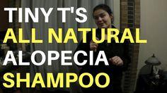 Tiny T's All Natural  Essential Oil Alopecia (Hair Loss) Shampoo