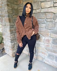 Canopy Jeans - Black, Jeans | Fashion Nova Cute Swag Outfits, Chill Outfits, Stylish Outfits, Dope Fall Outfits, Classy Outfits, Summer Outfits, Black Girls Outfits, Jean Outfits, Black Girl Fashion