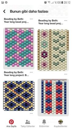 Peyote Beading Patterns, Loom Bracelet Patterns, Peyote Stitch Patterns, Bead Loom Bracelets, Loom Patterns, Loom Beading, Bead Crochet Rope, Beaded Jewelry Designs, Beaded Crafts