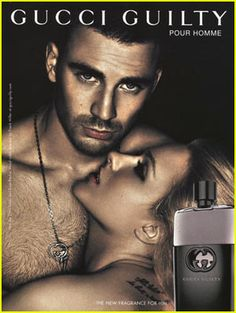 Chris Evans: New Gucci Guilty Ad! Check out the latest Gucci Guilty fragrance ad featuring a shirtless Chris Evans and sexy Evan Rachel Wood. Evan Rachel Wood, Chris Evans, Robert Evans, Frank Miller, Gucci Guilty, Anuncio Perfume, Gucci Ad, Trend Fashion, Men's Fashion