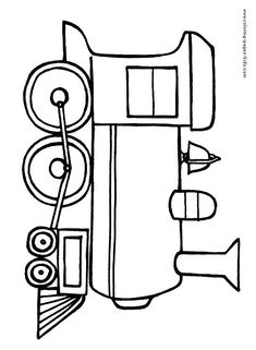 Print Coloring Page And Book Truck11 Transportation Pages For Kids Of All Ages Updated On Monday November 24th 2014