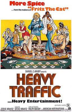 Heavy Traffic is a 1973 Action, Adventure film directed by Ralph Bakshi and starring Joseph kaufmann, Beverley Hope Atkinson. Fritz The Cat, Tea Gift Baskets, Ralph Bakshi, Collor, Film Posters, Cinema Posters, Vintage Movies, Live Action, I Movie