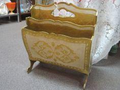 Florenza Magazine Rack. $36.00 Dealer 142 https://www.facebook.com/pages/Burlington-Antiques/148604250029