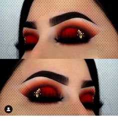 easy makeup ideas makeup ideas for halloween ideas eyeshadow makeup ideas for halloween eye makeup ideas Red Makeup Looks, Bright Eye Makeup, Pink Eye Makeup, Dramatic Eye Makeup, Black Girl Makeup, Eye Makeup Art, Makeup For Green Eyes, Natural Eye Makeup, Eye Makeup Tips