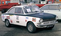 1969 Daf 55 Coupe Rallywagen, DAF Museum Weekend 2013