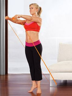 Alison Sweeney's 10 move workout while watching tv