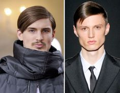 Men's Hairstyles Trends Fall/Winter 2012- 2013 Catwalk First Look