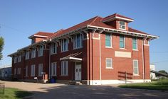 Old Rock Island Railroad Depot (Fairbury, Nebraska) by courthouselover, via Flickr